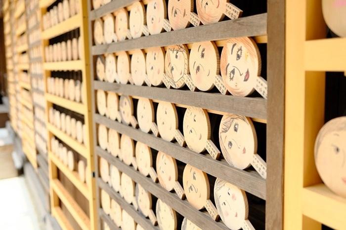 河合神社で取りたい写真 フォトジェニックな鏡絵馬