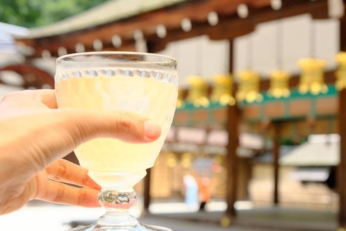 河合神社で撮りたい フォトジェニックな美人水