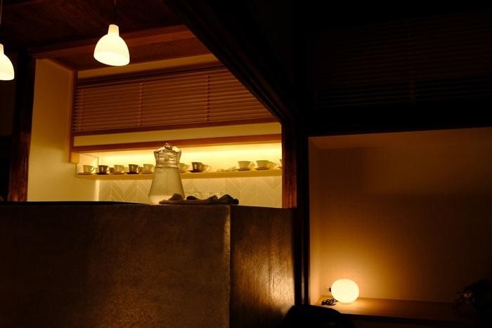 フォトジェニックな村上開新堂カフェ画像