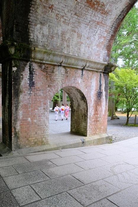 フォトジェニックな南禅寺水路閣