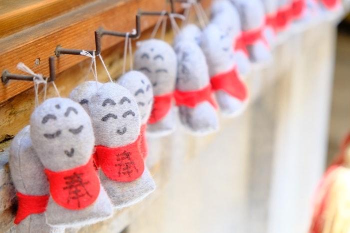 フォトジェニックな矢田寺 ぬいぐるみ地蔵の写真