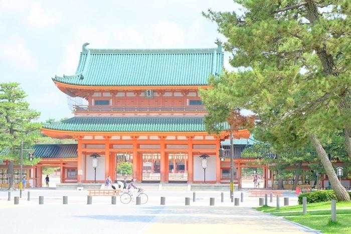 京都・神社の撮影スポット 平安神宮