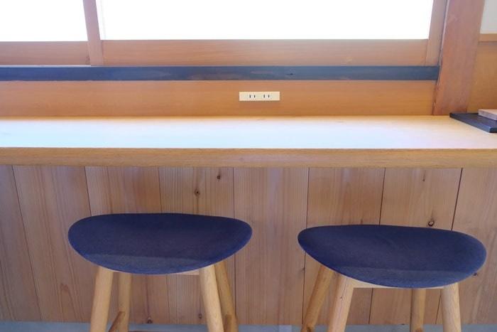 ノットカフェのおすすめ席