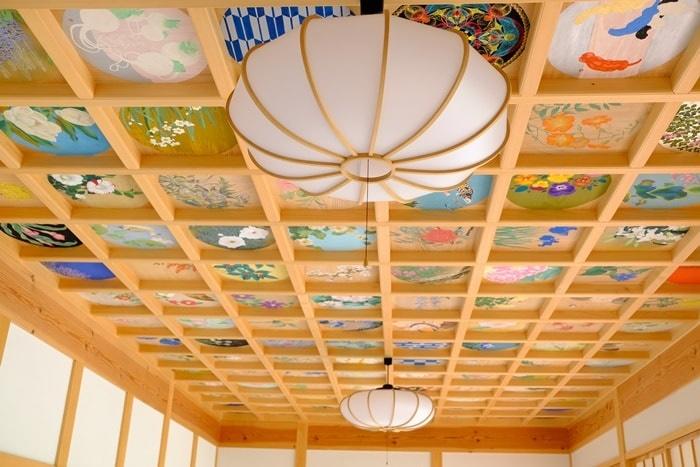 フォトジェニックな正寿院の天井画