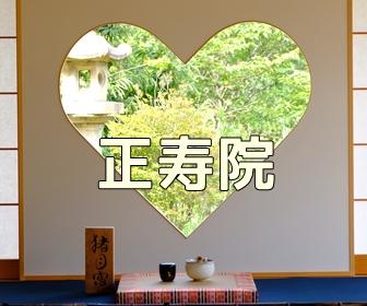 京都・お寺や神社の撮影スポット 正寿院