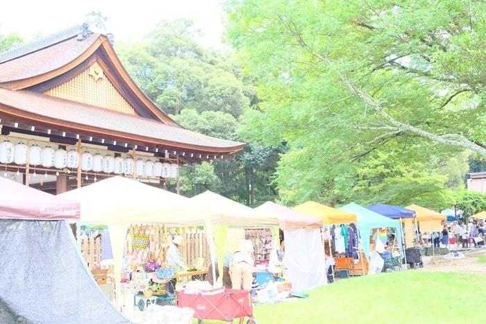 上賀茂神社の手づくり市