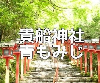 京都・青もみじの撮影スポット・貴船神社