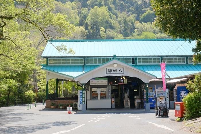 フォトジェニックな叡山電車・八瀬駅