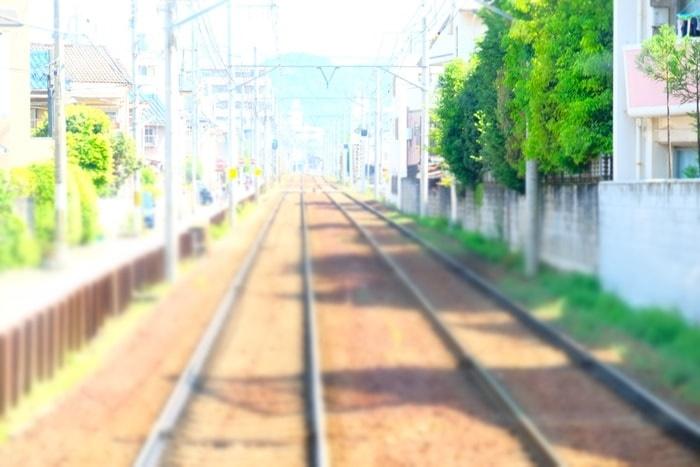 京都・ノスタルジックな撮影スポット・叡山電車
