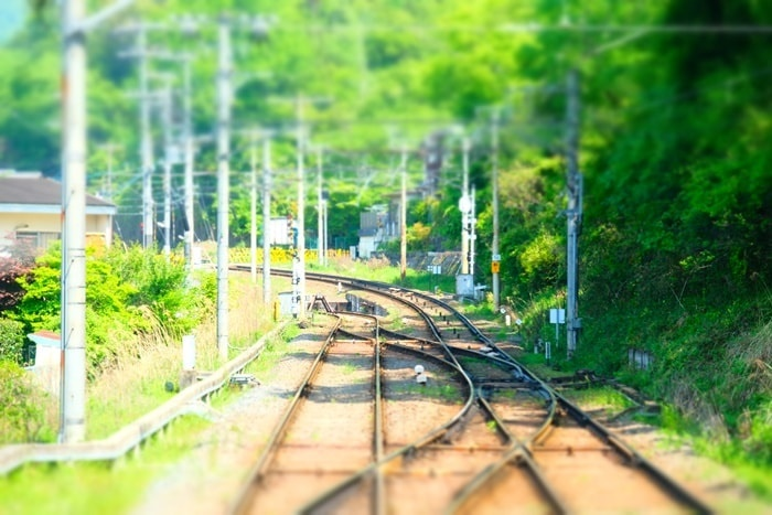 フォトジェニックな叡山電車