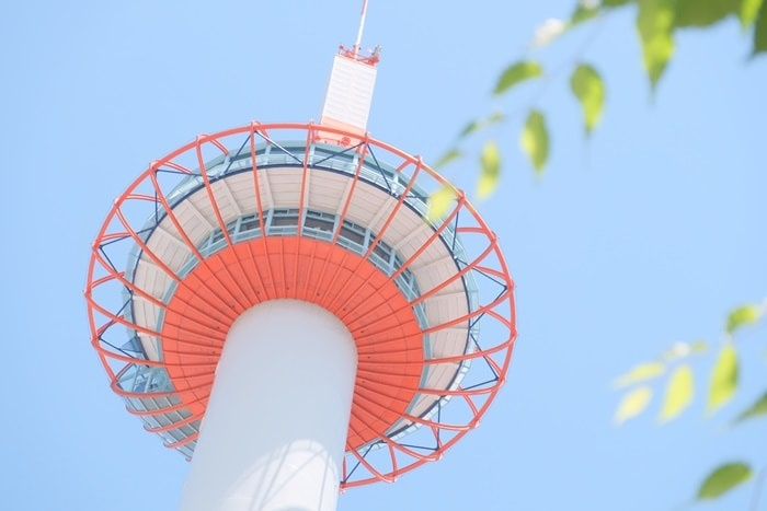 京都らしい撮影スポット 京都タワー