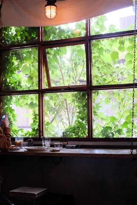 クランプコーヒーサラサのおすすめ席