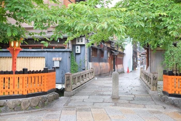 祇園白川の撮影スポット