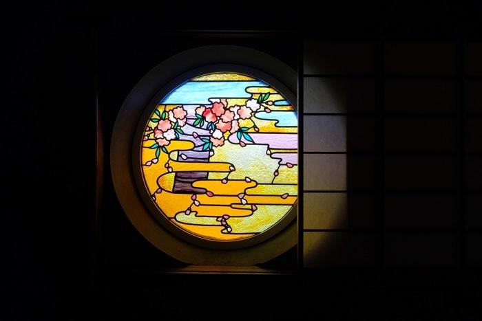 フォトジェニックな長楽館の建物