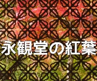 京都・紅葉の撮影スポット永観堂