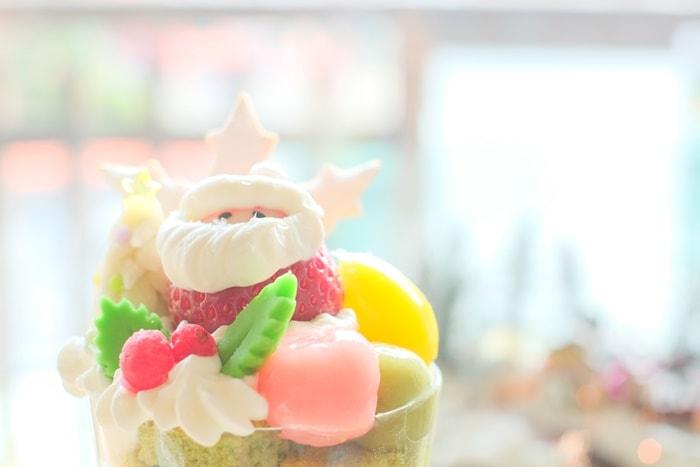 金の百合亭 クリスマスパフェ