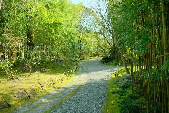 松花堂 椿苑 入り口