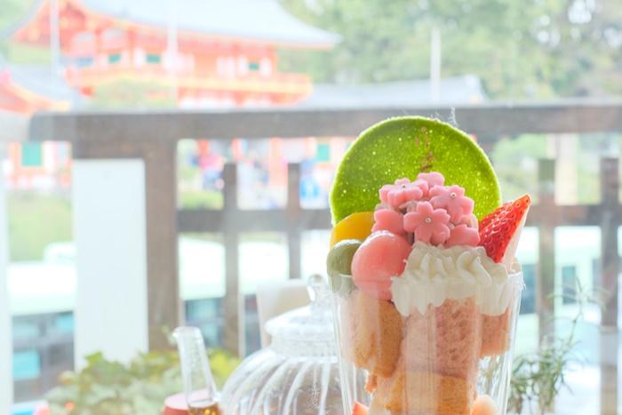 京都のフォトジェニックカフェ 金の百合亭