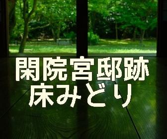 京都・新緑と床みどりの撮影スポット・閑院宮邸跡