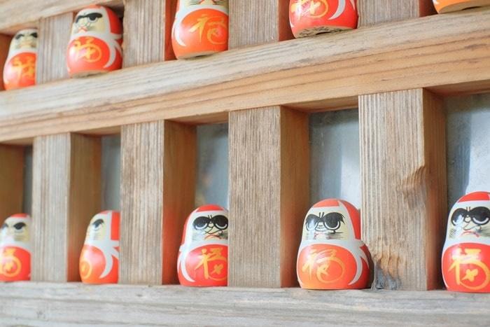 丹州観音寺のだるまみくじ画像