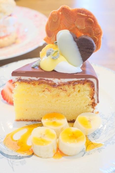 カテマオのチョコレイヤーケーキ