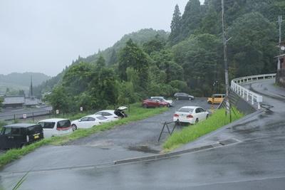 正寿院の駐車場