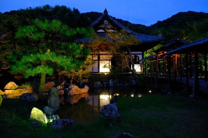 高台寺の夜景