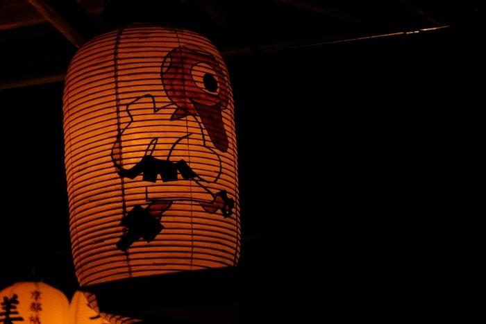 高台寺の夜景 おばけちょうちん