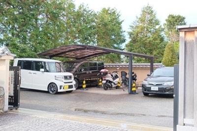 勝林寺の駐車場