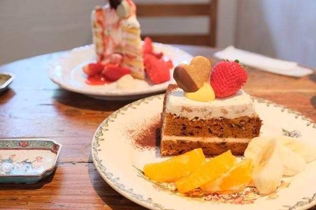 カテマオのキャロットケーキ
