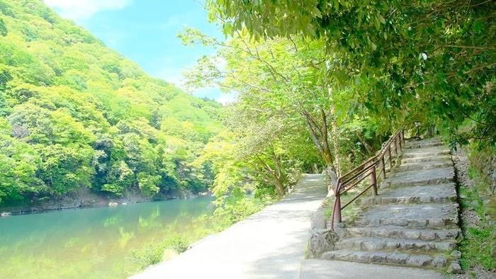 嵐山祐斎亭へのアクセス